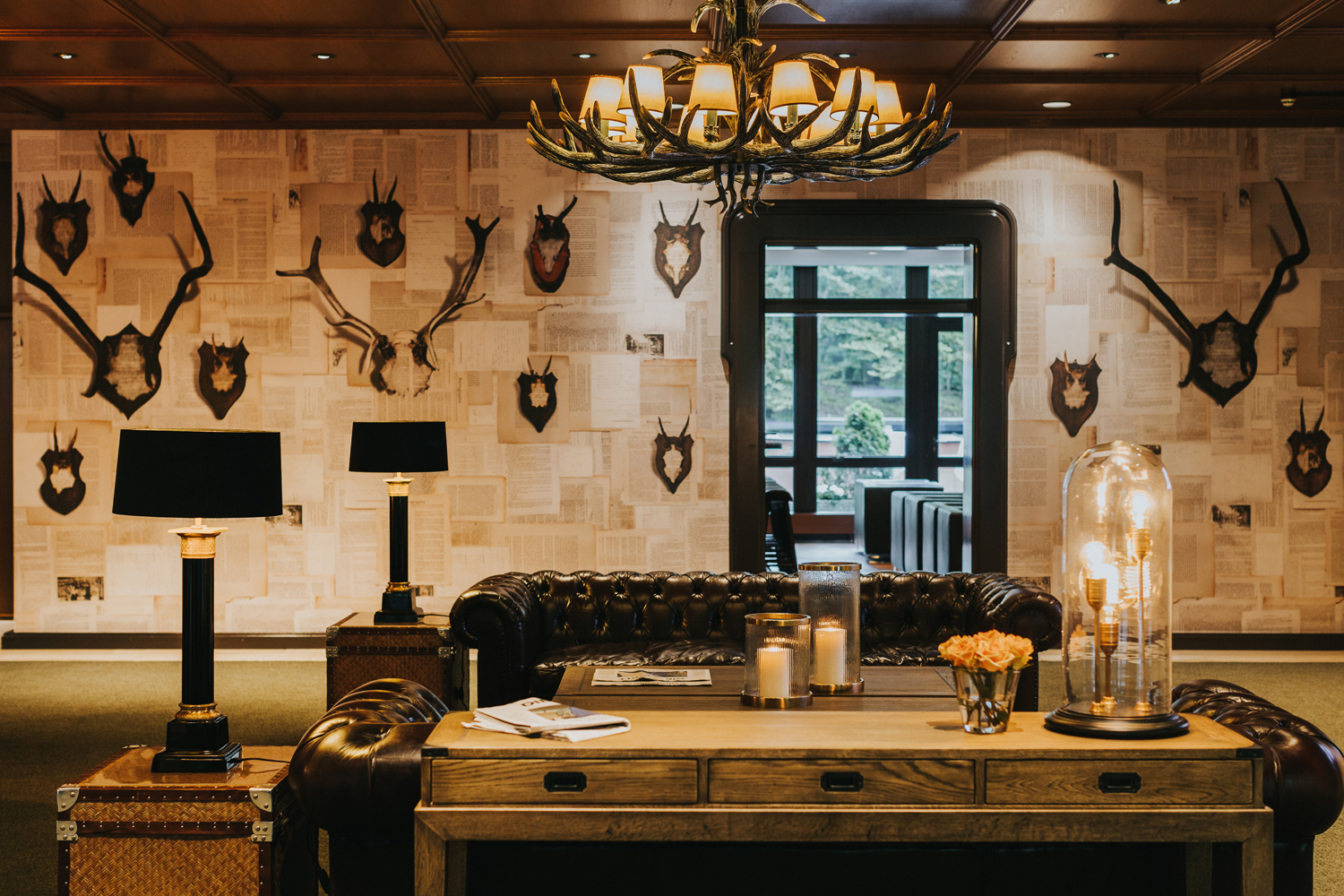 Hotel_Forsthaus_Nuernberg_Lobby_Antlers